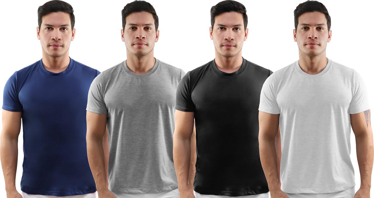 Camiseta manga curta masculina