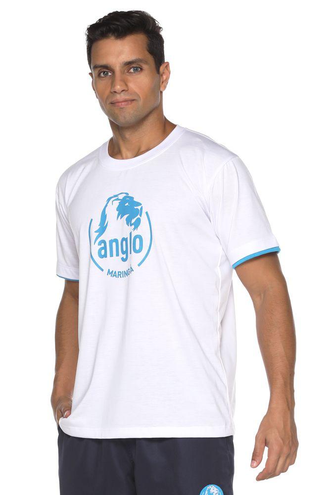 Camiseta Manga Curta Poliviscose - Colégio Anglo