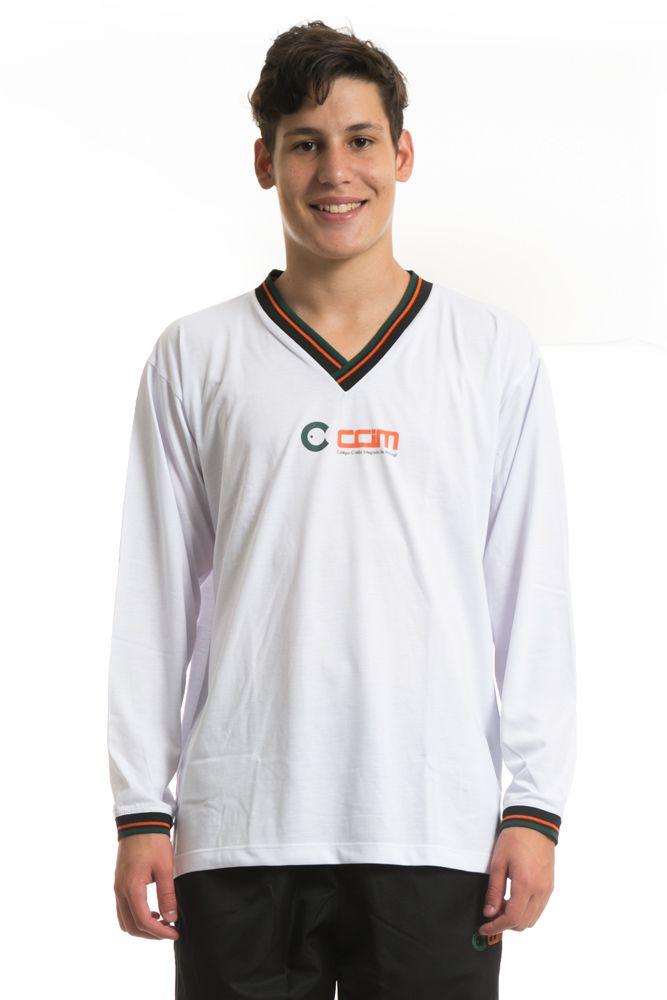 Camiseta manga longa em poliviscose  - Colégio CCIM