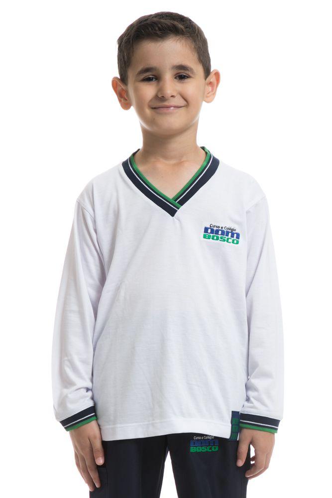 Camiseta manga longa em poliviscose - Colégio Dom Bosco