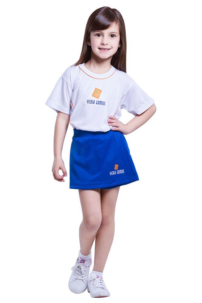 Camiseta manga curta em poliviscose - Escola Eximius