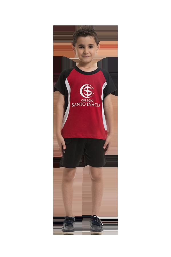 Camiseta treinamento educação infantil. Colégio Santo Inácio.