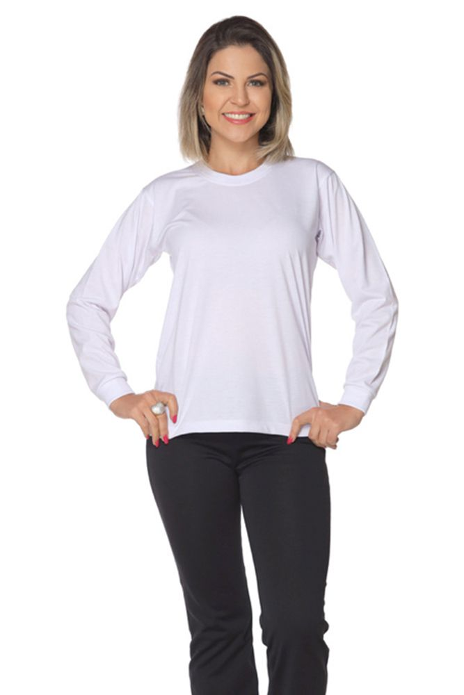 Camiseta manga longa unissex