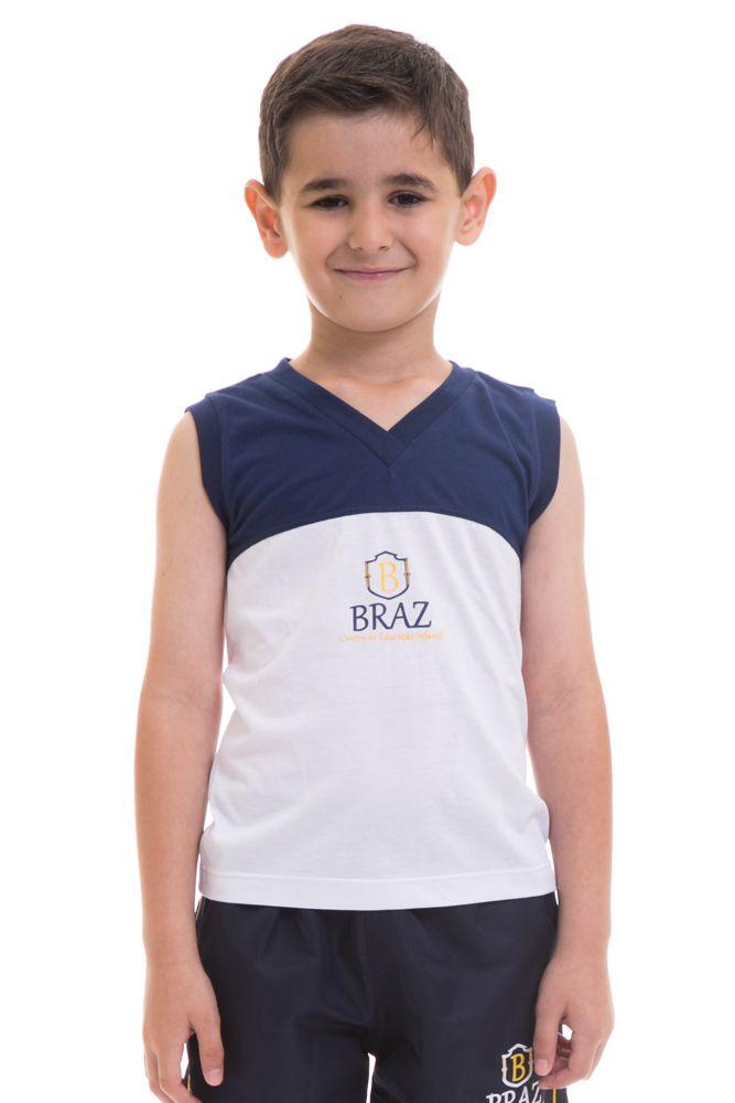 Camiseta regata em poliviscose - Colégio Braz