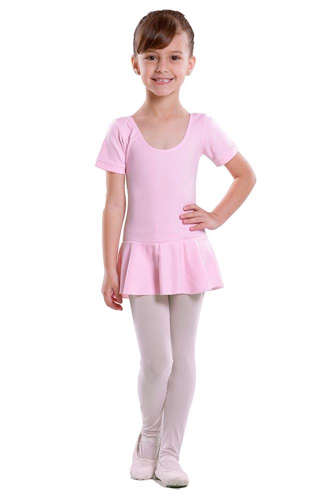 Collant com manga e com saia - Ballet