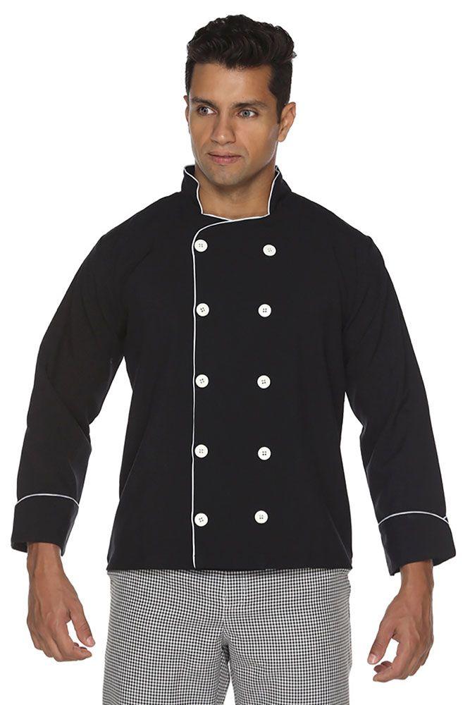 Dolmã chef cozinha masculino Algodão