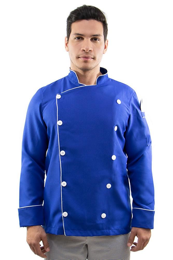 Dolmã chef cozinha italiano masculino