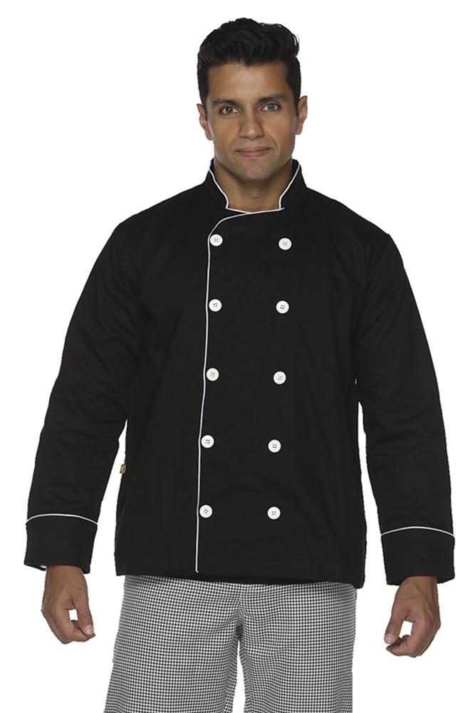 Dolmã chef cozinha masculino