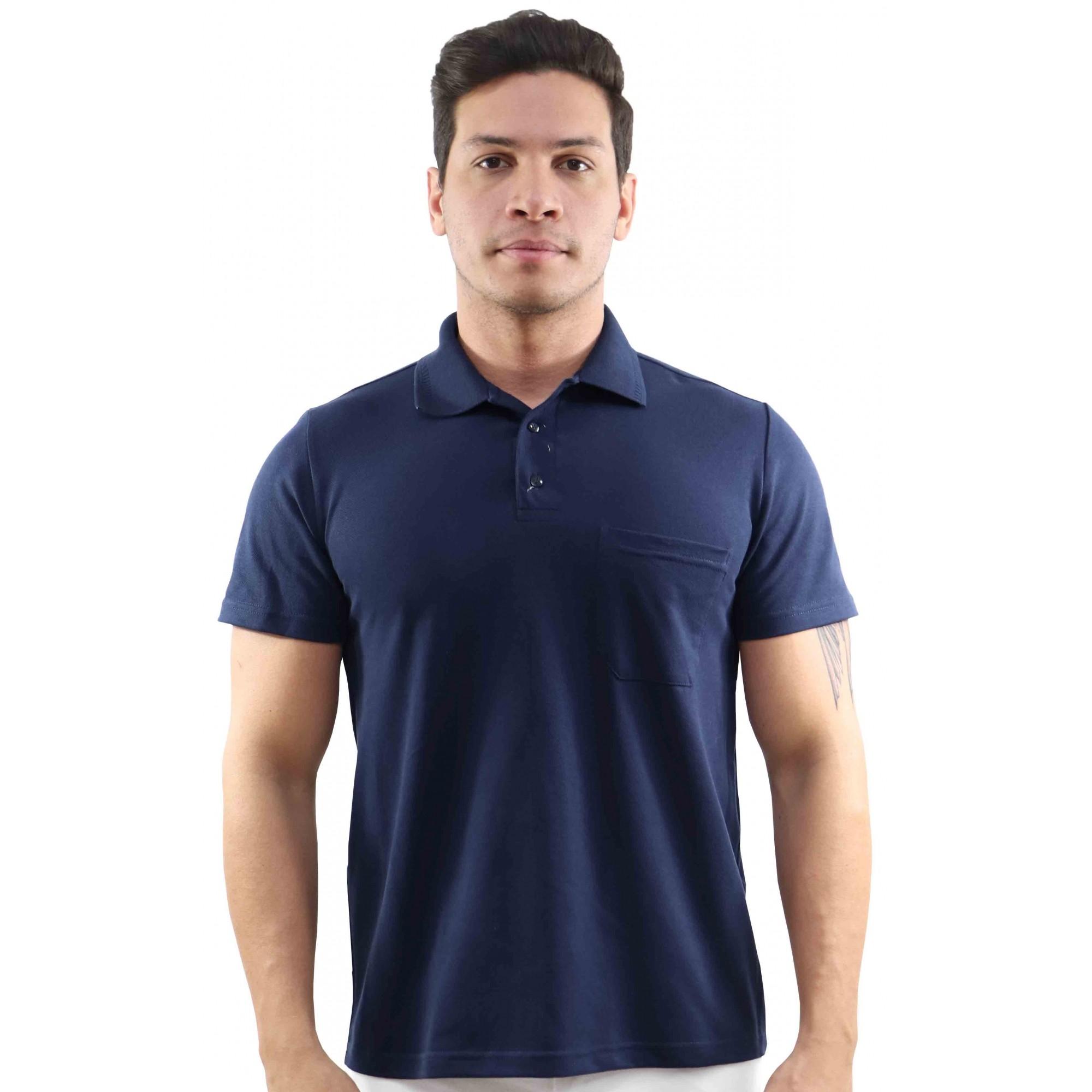 Kit 2 Camisas masculina polo