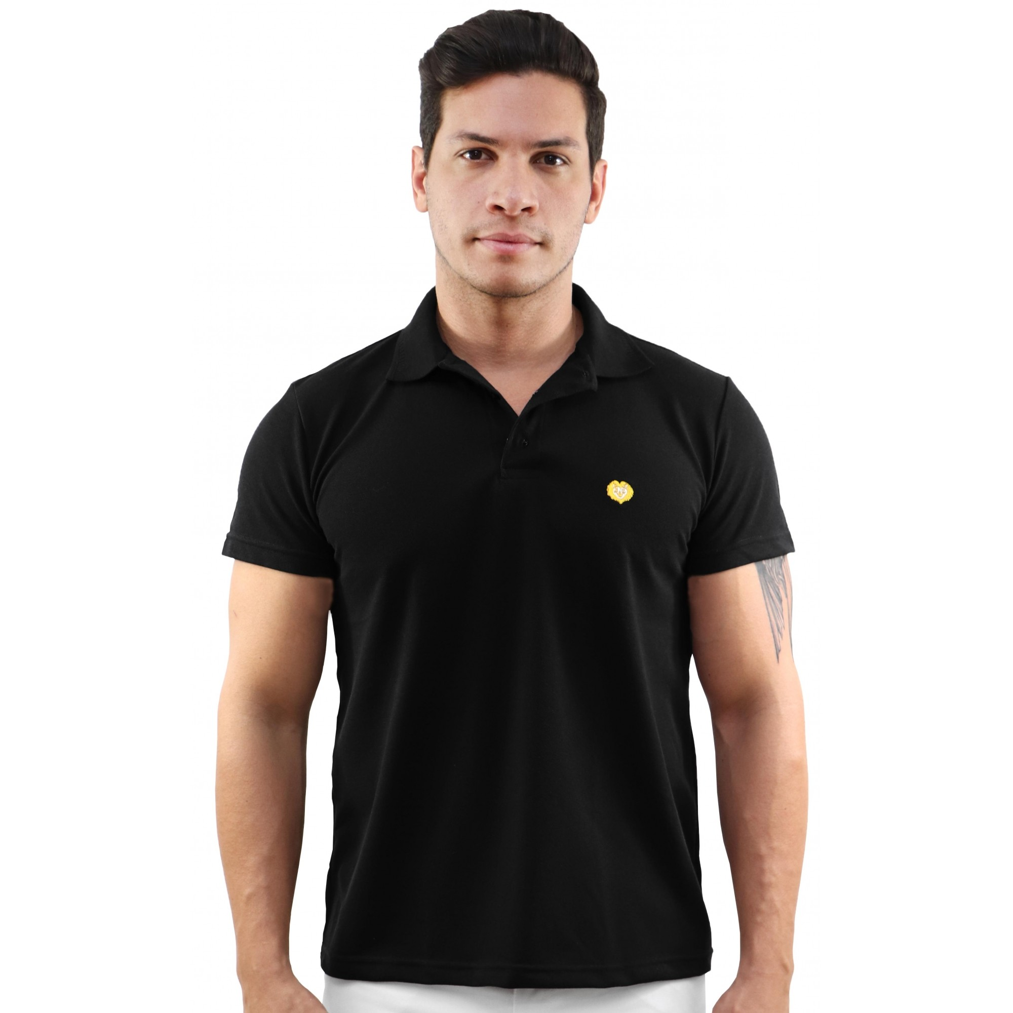 Kit 2 Camisas Polo Leão