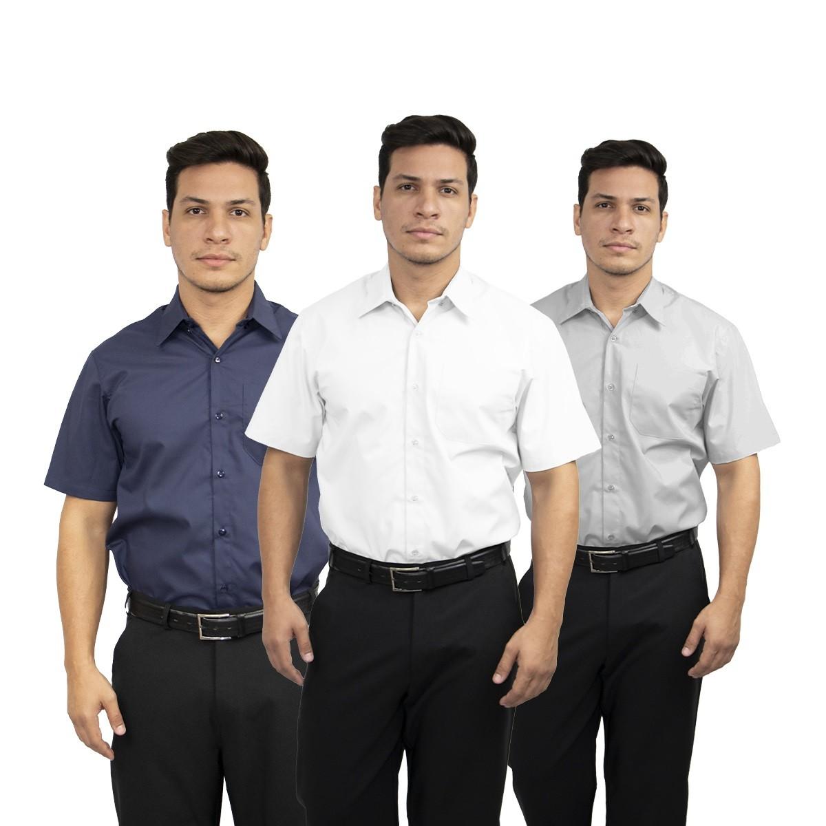 Kit 2 Camisas social