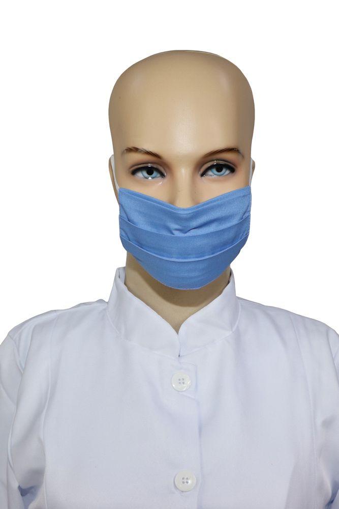 Kit 2 Máscaras infantil 10 unidades de tecido duplo lavável em Algodão