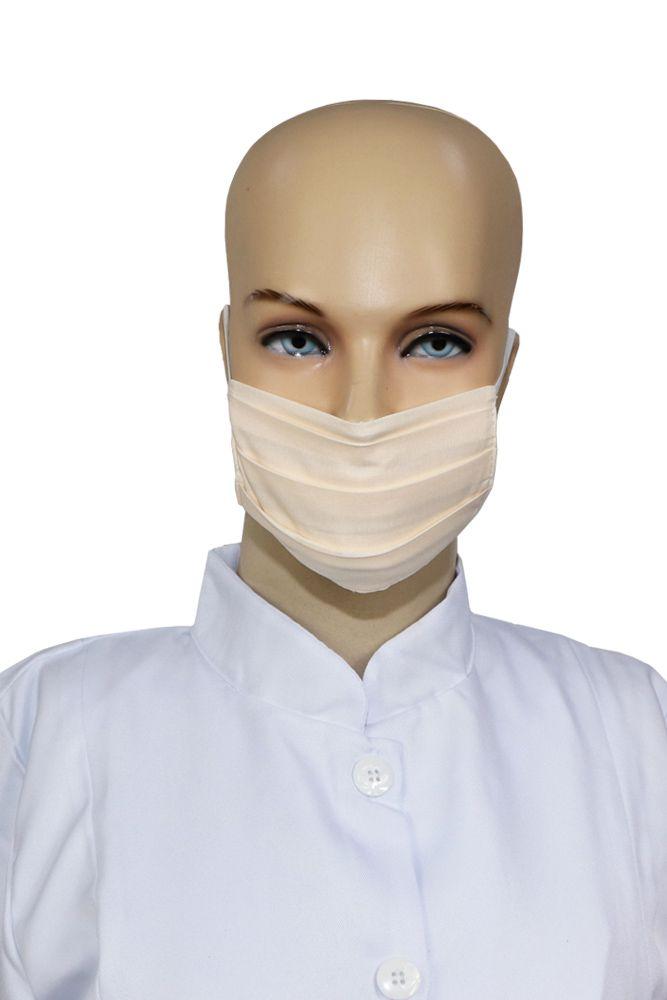 Kit 2 Máscaras infantil 5 unidades de tecido duplo lavável em Algodão