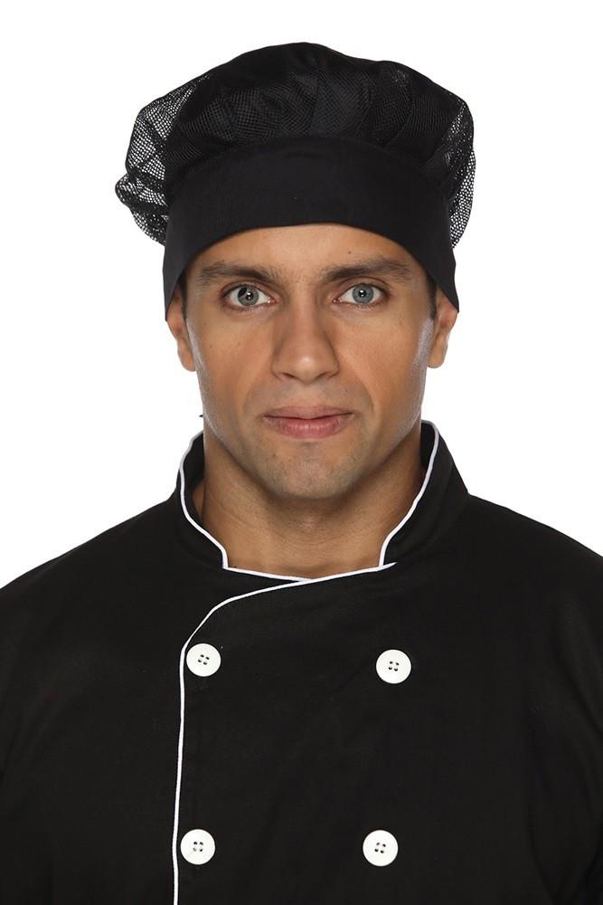 Kit 2 Toucas Cozinheiro (a) em rede