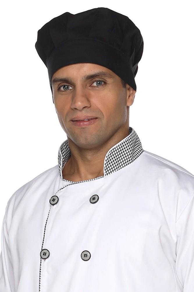Kit 2 Toucas de cozinheiro
