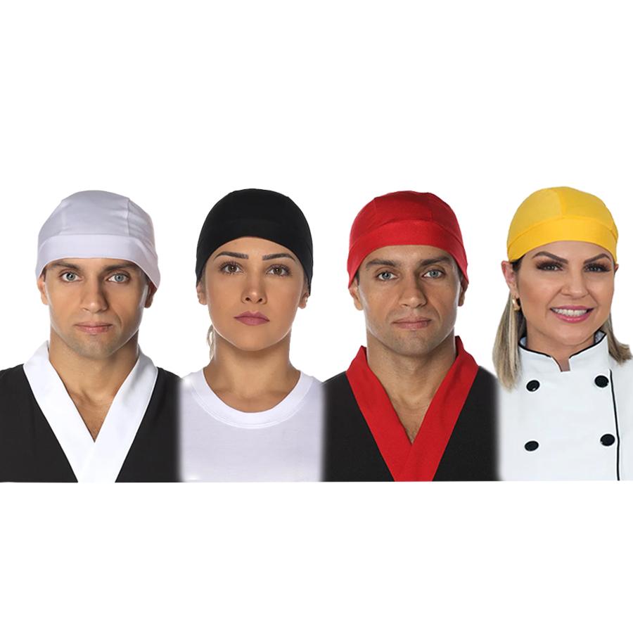 Kit 5 Bandanas cozinheiro(a)