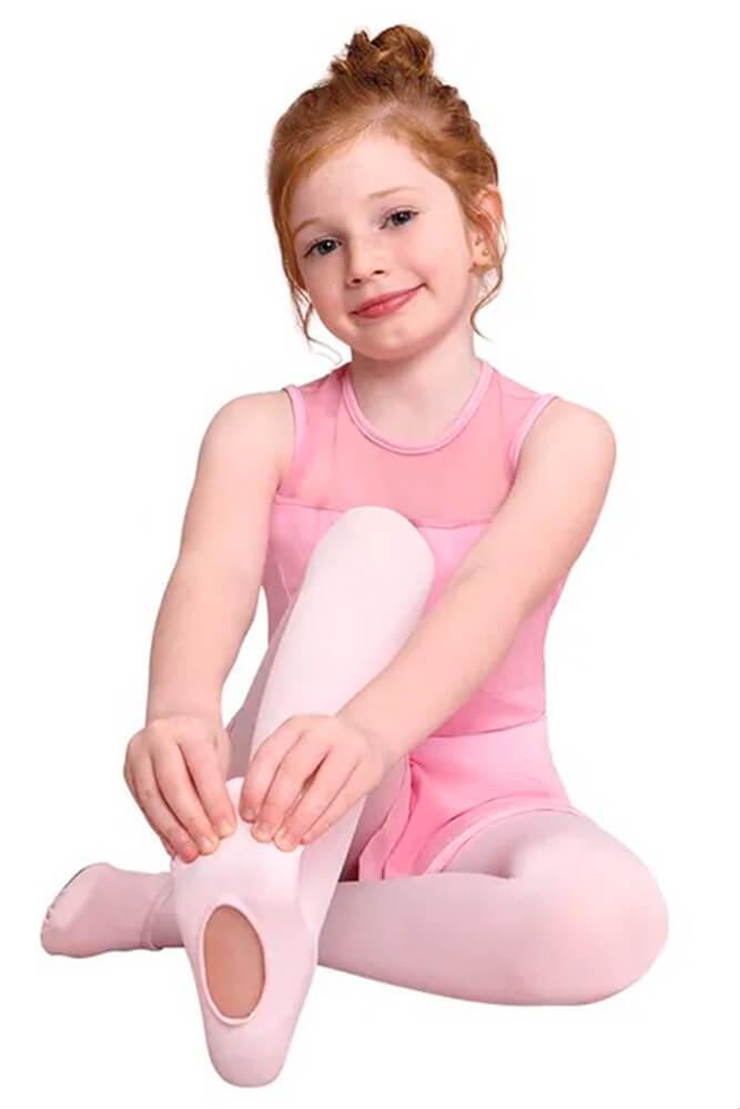 Meia calça Ballet com abertura da Lupo