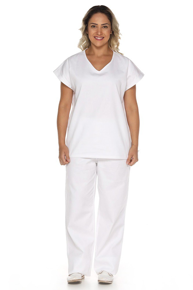 Pijama uniforme centro cirúrgico scrubs Polybrim