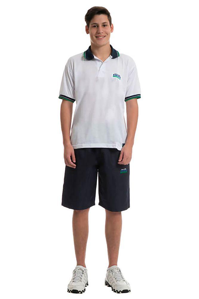 Camisa polo em poliviscose - Colégio Dom Bosco