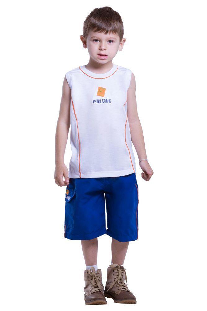 Camiseta regata em poliviscose - Colégio Eximius