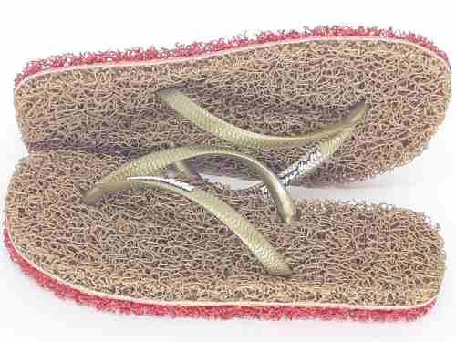 2 Pares Chinelo De Banho Esponja Capacho Anti Derrapante