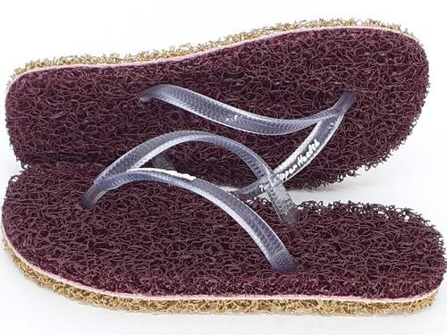 5 Pares Chinelo De Banho Esponja Capacho Anti Derrapante