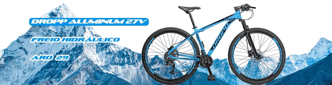 bicicleta dropp aluminum 27v