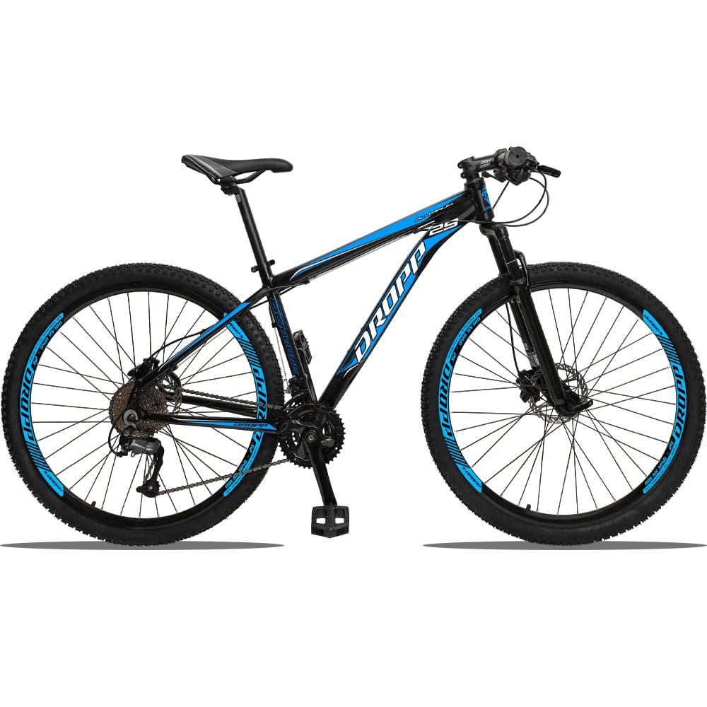 Bicicleta 27v Aro 29 Dropp Aluminum Freio Hidráulico Câmbio Shimano Altus