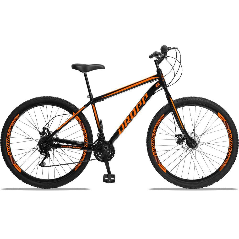 Bicicleta Aro 29 Dropp Sport Aço 21V Freio a Disco