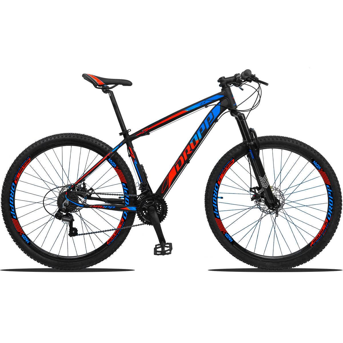 Bicicleta Aro 29 Dropp Z3 Câmbios Shimano 21V Freio a Disco