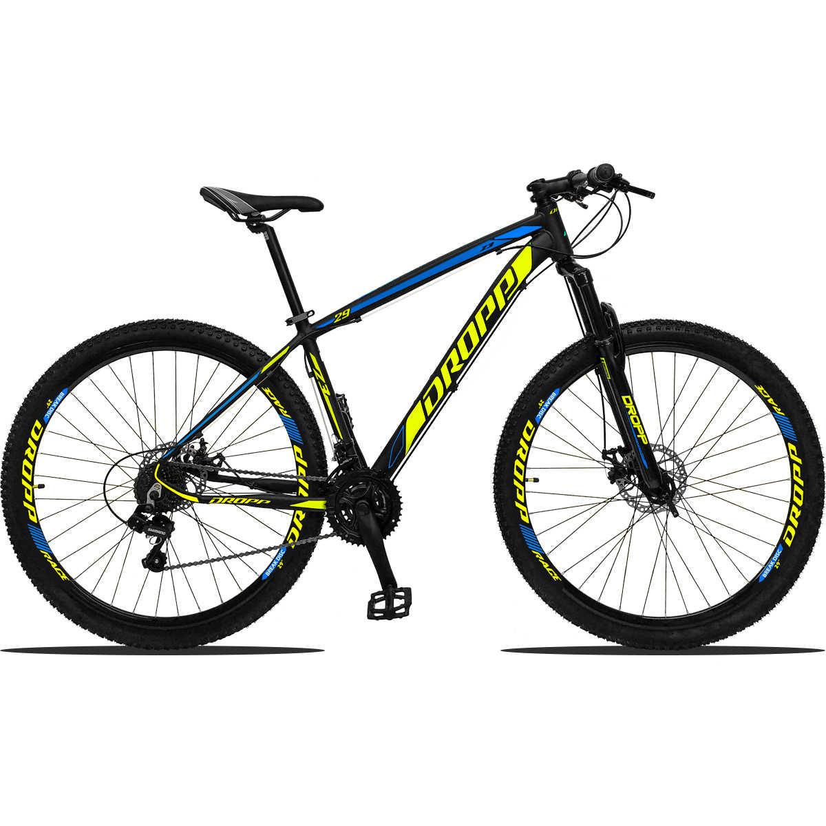 Bicicleta Aro 29 Dropp Z3 Freio Hidráulico 21V  Câmbios Shimano