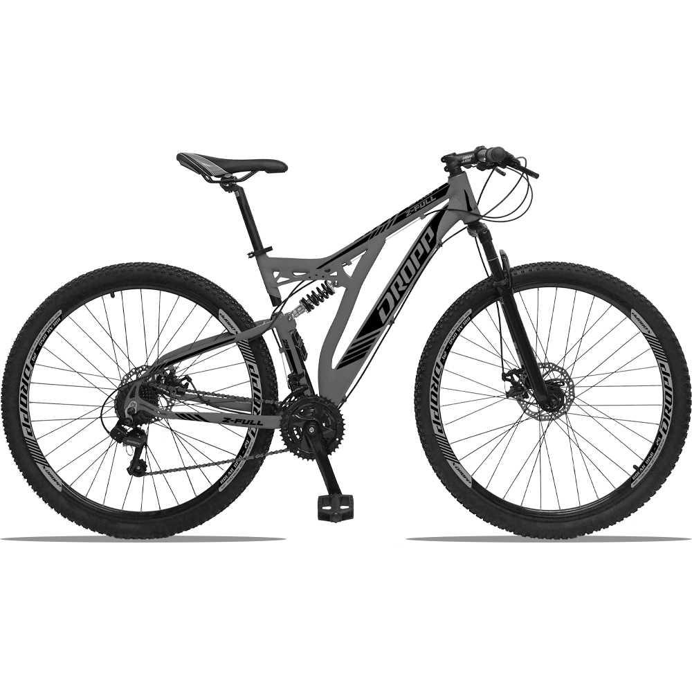 Bicicleta Aro 29 Dropp Z-Full 21V Freio a Disco