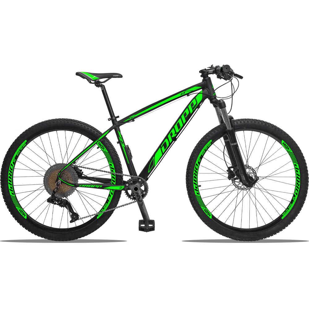 Bicicleta Dropp Z3 1/12 Câmbio SLX Freios Shimano Suspensão a Ar Trava no Guidão Aro 29