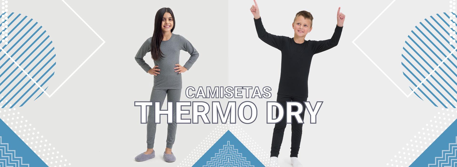 Camisetas Thermo Dry