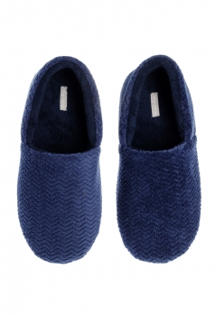 Pantufa Plush Blue Any Any