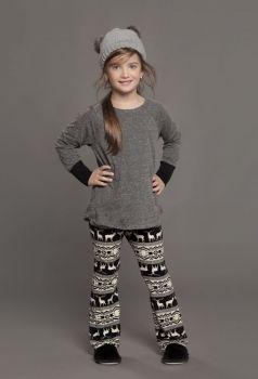 Pijama Adolescente Mescla Estampado