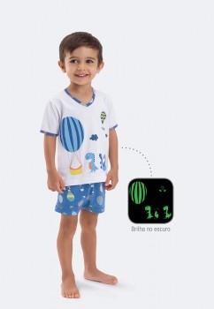 Pijama Algodão e Modal Cai Cai Balão