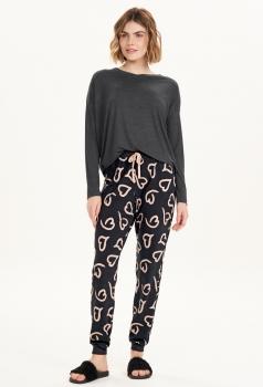 Pijama Feminino Longo Cor com Amor