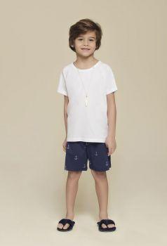 Pijama Infantil Masculino Âncora