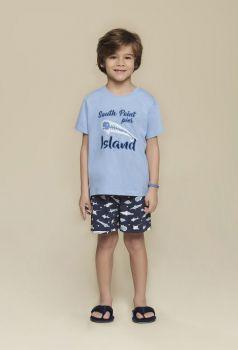 Pijama Infantil Masculino Peixinhos