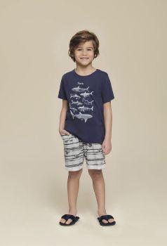 Pijama Infantil Masculino Sharks
