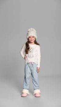 Pijama Longo Infantil Listras