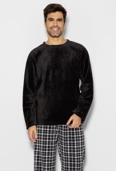 Pijama Longo Manga Longa Soft Masculino York
