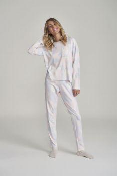 Pijama Manga Longa Feminino Camuflado