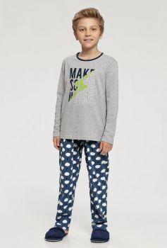 Pijama Manga Longa Infantil