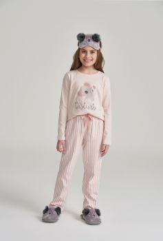 Pijama Manga Longa Infantil Coala