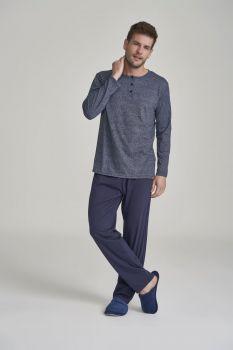 Pijama Manga Longa Masculino