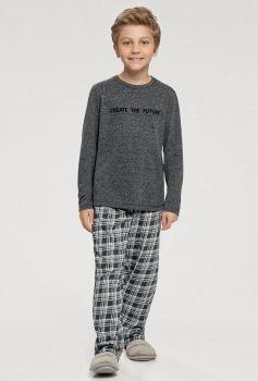 Pijama Manga Longa Menino