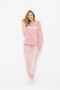 Pijama Manga Longa Soft Dreams Feminino