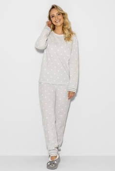Pijama Manga Longa Soft Feminino Snow Any Any